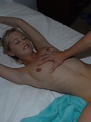 Hot euro ex gf babe fingered while sleeping get pounded hard and cumfaced hot sleeping fuck pics