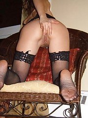 Photo gallery of an amateur horny wild skanky MILF