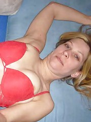 Picture collection of a steamy hot tattooed amateur skanky housewife