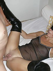 Picture collection of an amateur hardcore MILF getting kinky