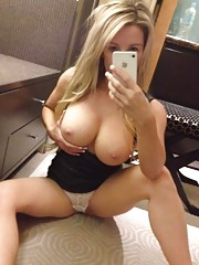 Collection of sexy big-tittied camwhoring amateur babes