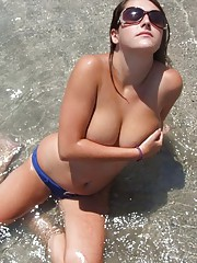 Hot picture selection of sexy heavy-chested babes