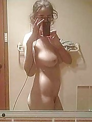 Picture selection of two steamy hot amateur busty babes