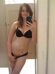 Picture collection of an amateur horny kinky babe dildoing her pussy