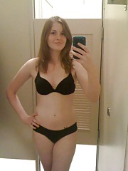 Pictures of a shy GF playing with herself