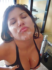 Steamy naughty cum-drenched wild hardcore amateur honey