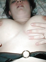 Picture collection of two horny naughty cum-drenched amateur bitches