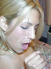Picture collection of steamy hot amateur cumshots