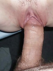 Picture selection of my kinky amateur cum-drenched bitch