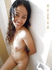 Collection of a Filipina chick posing nude for her boyfriend