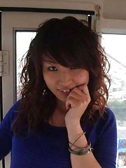 Picture collection of an amateur sexy kinky hardcore Japanese teen who got naked