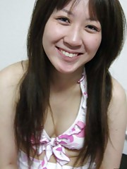 Picture collection of an amateur kinky Oriental cutie