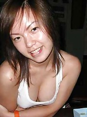 Picture selection of steamy hot amateur Asian babes