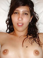 Assorted nude pictures of a kinky sexy Spanish girlfriend