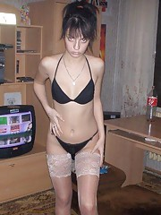 Collection of a slim Mexican chick teasing her boyfriend