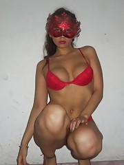 Compilation of a voluptuous Spanish honey posing for the cam