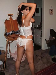 Picture selection of amateur steamy hot sexy Spanish girlfriends