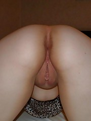 Horny nasty bitch fucking her ass with a dildo