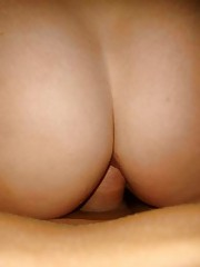 Kinky amateur babes getting stuffed in their buttholes