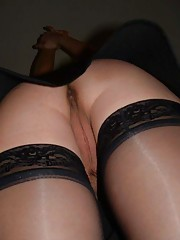 Picture collection of an amateur kinky hottie getting stuffed in her butthole