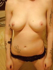 Selection of amateur scene babes posing at home
