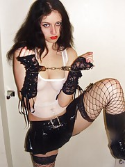 Nice kinky picture collection of a hot goth amateur babe