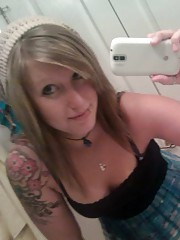 Picture collection of an amateur tattooed hottie