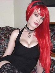 Picture collection of a mix of amateur kinky punk girlfriends