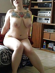 Compilation of naughty BBWs posing slutty for their BFs
