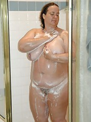 Naughty amateur BBWs showing off their plump bodies