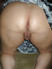Kinky chubby GF gets her big fat ass licked