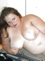Collection of two amateur BBWs in various sleazy poses