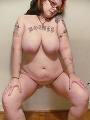 Picture gallery of hot sleazy plump girlfriends posing