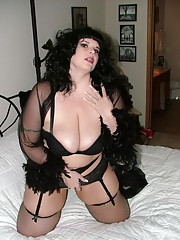 Skanky horny wild huge amateur bitch in sleazy poses