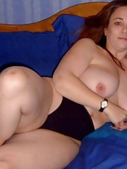 Picture collection of steamy hot and kinky amateur BBWs