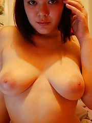 Picture selection of amateur chubby kinky chicks posing
