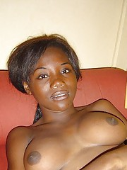Group of hot amateur black babes posing sexy