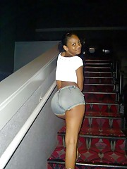 Photo gallery of a group of amateur kinky black GFs