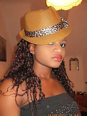 Picture collection of nice amateur steamy hot ebony chicks