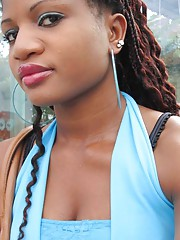 Picture collection of a steamy hot amateur sexy ebony babe