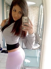 Picture collection of amateur non-nude hotties