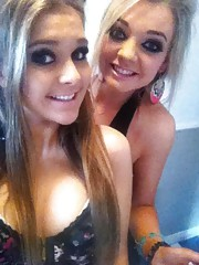 Sexy amateur non-nude girlfriends posing