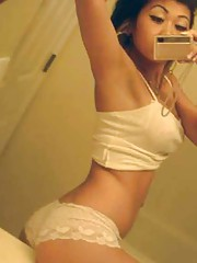 Picture collection of an amateur sexy busty non-nude girlfriend