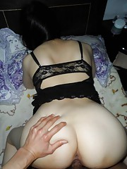 Selection of a naughty chick getting fucked doggiestyle