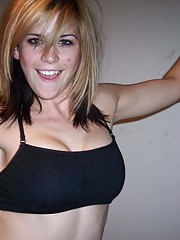 Picture collection of an amateur slutty girlfriend getting fucked