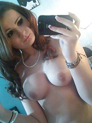 Sexy honeys showing their nice tits while camwhoring