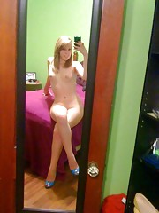 Collection of naughty amateur honeys selfshooting