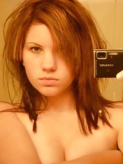 Pictures of a steamy hot sexy amateur cutie selfshooting
