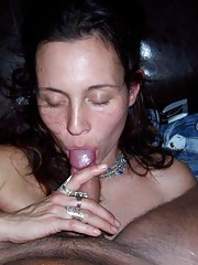 Kinky cocksucking chicks enjoying oral sex at home