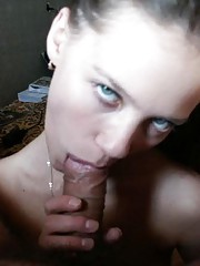 Picture selection of a horny cocksucking amateur wild honey